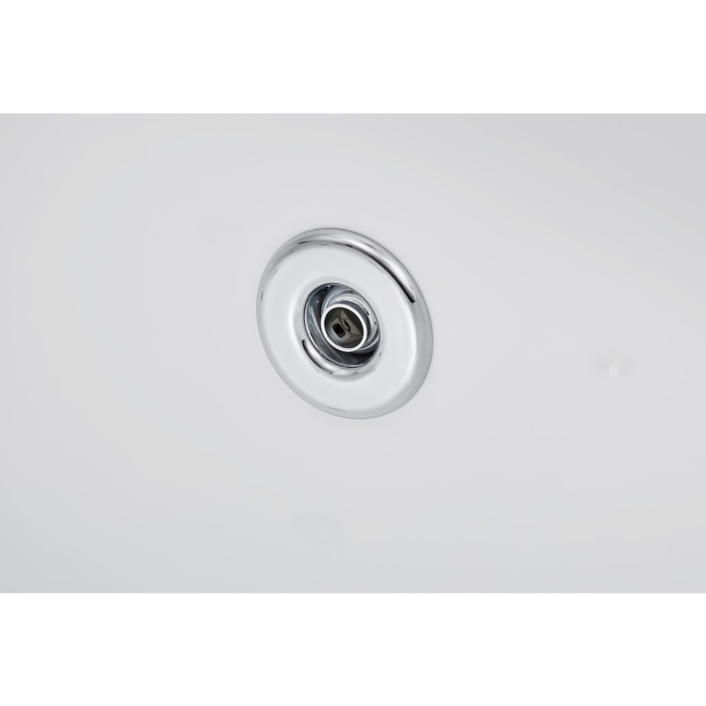 OTTOFOND Whirlpool-Badewanne »Julia«, Typ 1, chrom