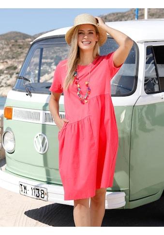 MIAMODA Sommerkleid, mit gewebtem Einsatz kaufen