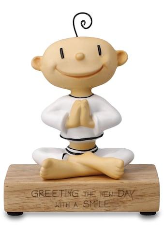 """Goebel Dekofigur »Figur Der kleine Yogi - """"Greeting the new day""""« kaufen"""