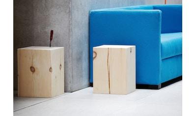 jankurtz Hocker »block«, eckig kaufen