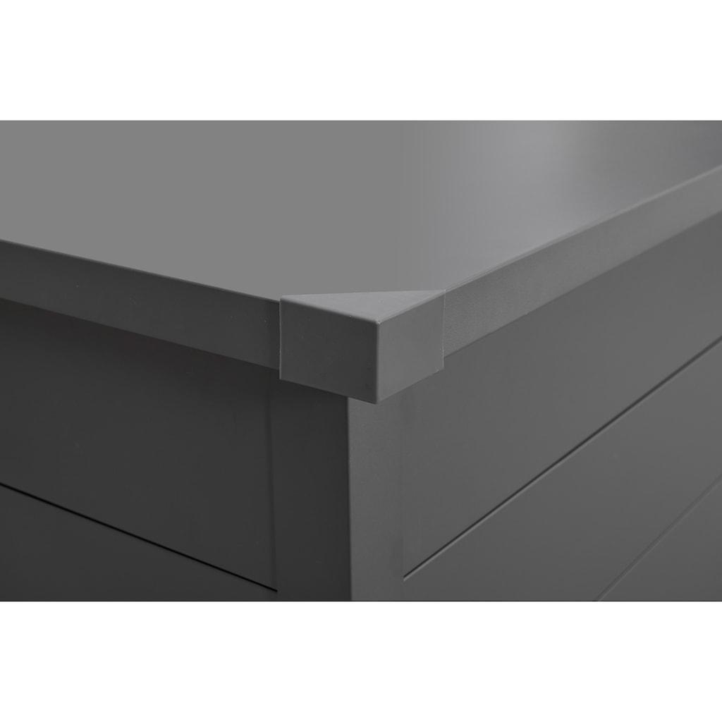 KONIFERA Kissenbox »Helsinki Deluxe«, Stahl, abschließbar