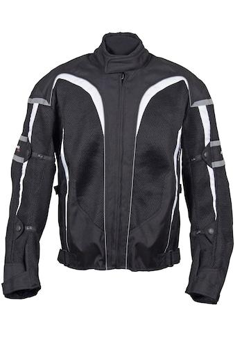 roleff Motorradjacke »RO 607«, 4 Taschen, mit Sicherheitsstreifen kaufen