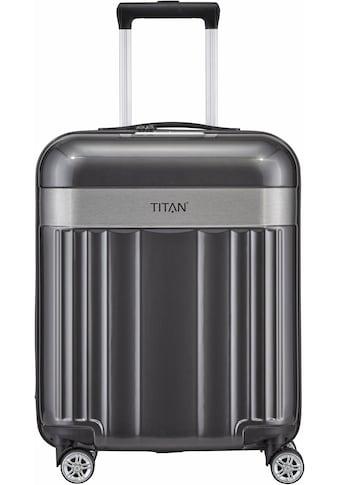 TITAN® Hartschalen-Trolley »Spotlight Flash, 55cm«, 4 Rollen kaufen