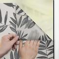 LICHTBLICK ORIGINAL Fensterfolie »Fensterfolie selbstklebend, Sichtschutz, Black Watercolor Branches - Schwarz«, 1 St., blickdicht, glattstatisch haftend