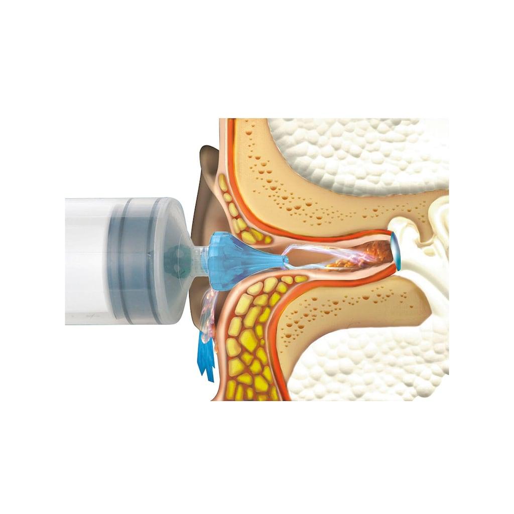 Ohrenwachs-Entferner mit kegelförmiger, weicher Spitze