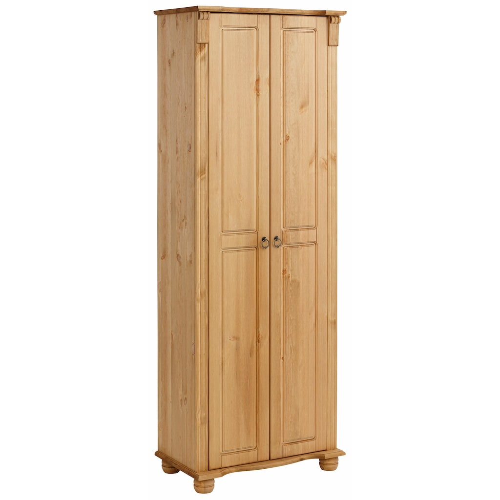 Home affaire Garderobenschrank, Florenz», 67 cm breit, aus massiver Kiefer