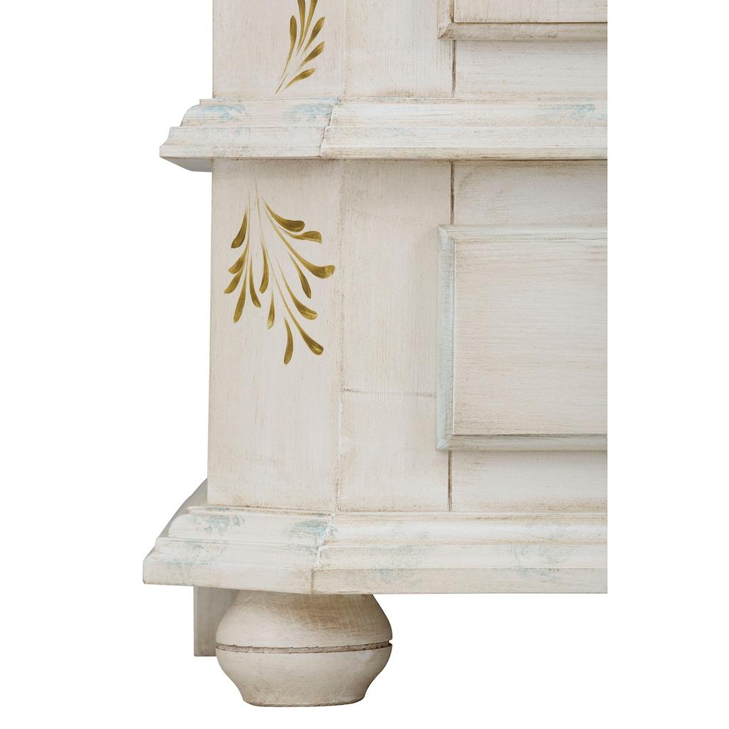 Premium collection by Home affaire Kommode »Sophia«, mit schönen Ornamenten und besonderen handgemalten Design auf den Türfronten