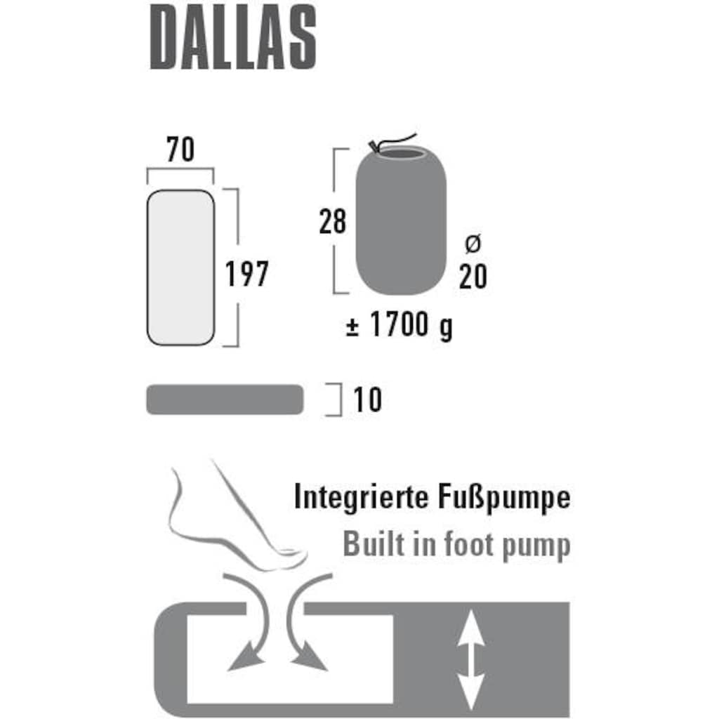 High Peak Luftmatratze »Komfortmatratze Dallas«