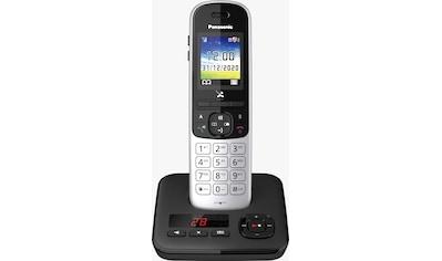 Panasonic Schnurloses DECT-Telefon »KX-TGH720«, (Mobilteile: 1 ), mit Anrufbeantworter kaufen