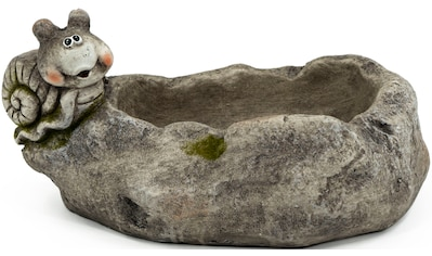 NOOR LIVING Gartenfigur »Pflanzschale mit Schnecke«, (1 St.) kaufen