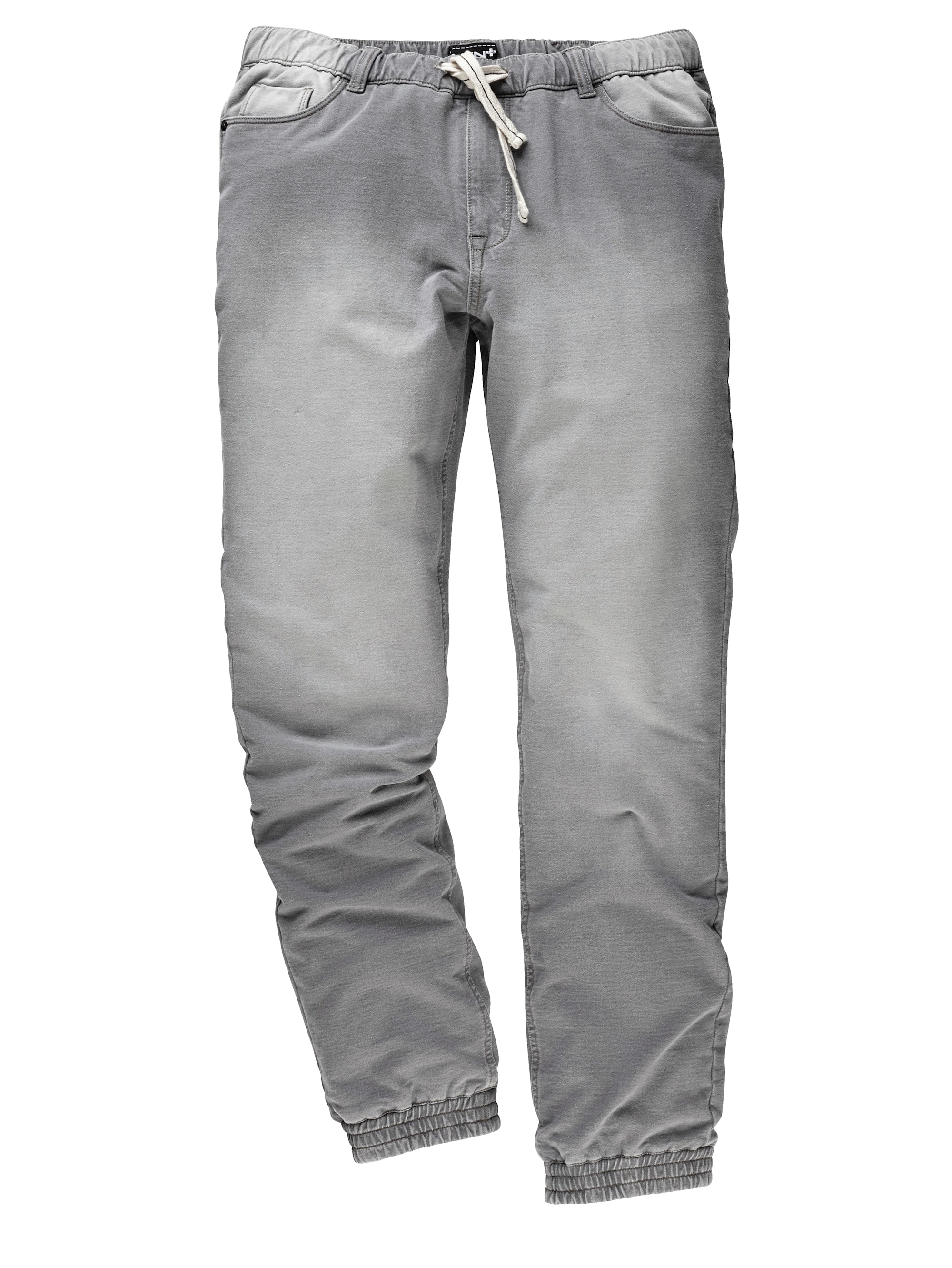 Men Plus by Happy Size Jogpants in Used-Optik | Bekleidung > Hosen > Komforthosen | Men Plus By Happy Size