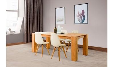 Home affaire Essgruppe »Juna«, (Set, 5 tlg.), bestehend aus 4 Stühlen und einem... kaufen