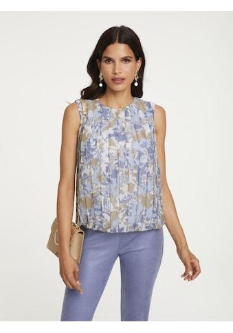 Bluse mit Falten - Verarbeitung kaufen