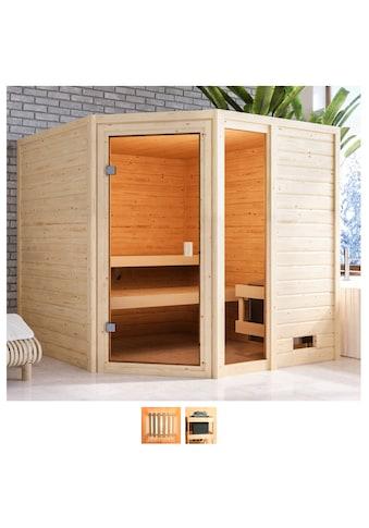 Karibu Sauna »Tally«, ohne Ofen kaufen