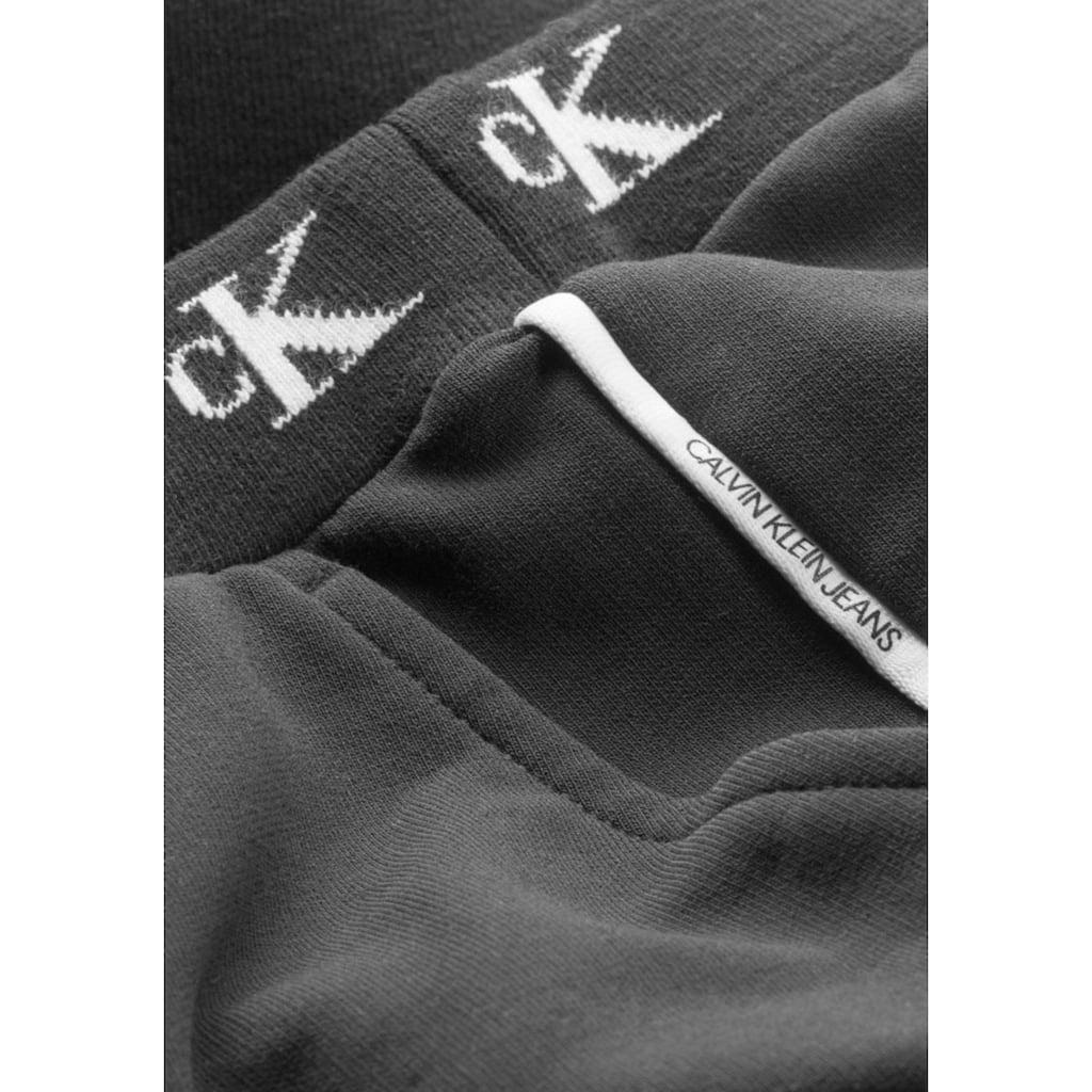 Calvin Klein Jeans Sweathose »MONOGRAM STR SLIM«, in extra schmaler Form