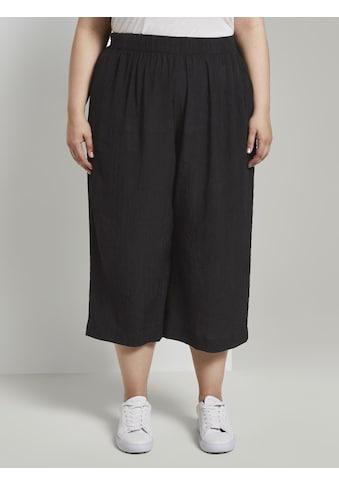 TOM TAILOR MY TRUE ME Culotte »Culotte Hose in Crincle - Optik« kaufen