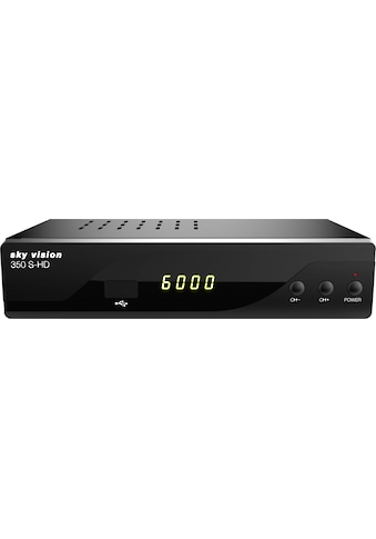 Sky Vision Satellitenreceiver »350 S-HD HDTV«, (LAN (Ethernet) EPG (elektronische Programmzeitschrift)-USB-Mediaplayer-Automatischer Sendersuchlauf), 2. Generation kaufen