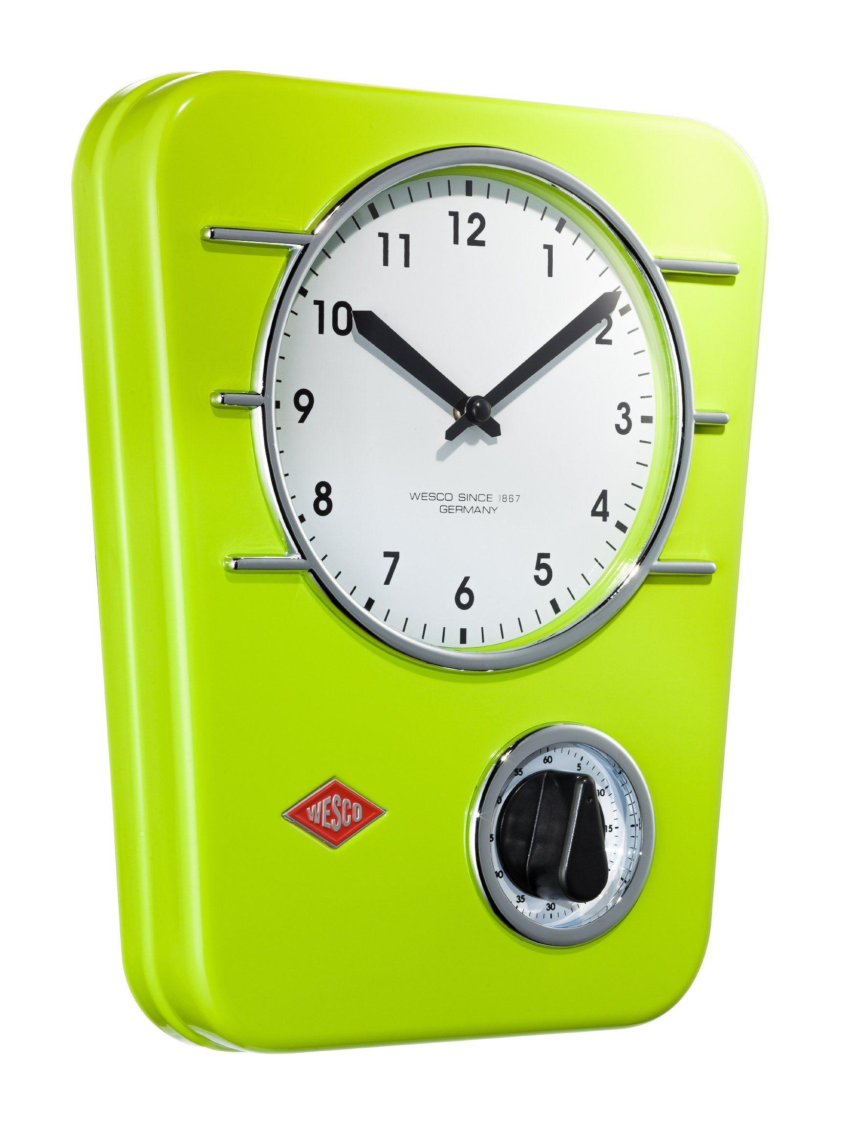 Wesco Küchenuhr Wohnen/Accessoires & Leuchten/Wohnaccessoires/Uhren/Wanduhren