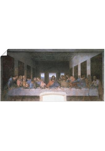 Artland Wandbild »Das letzte Abendmahl« kaufen