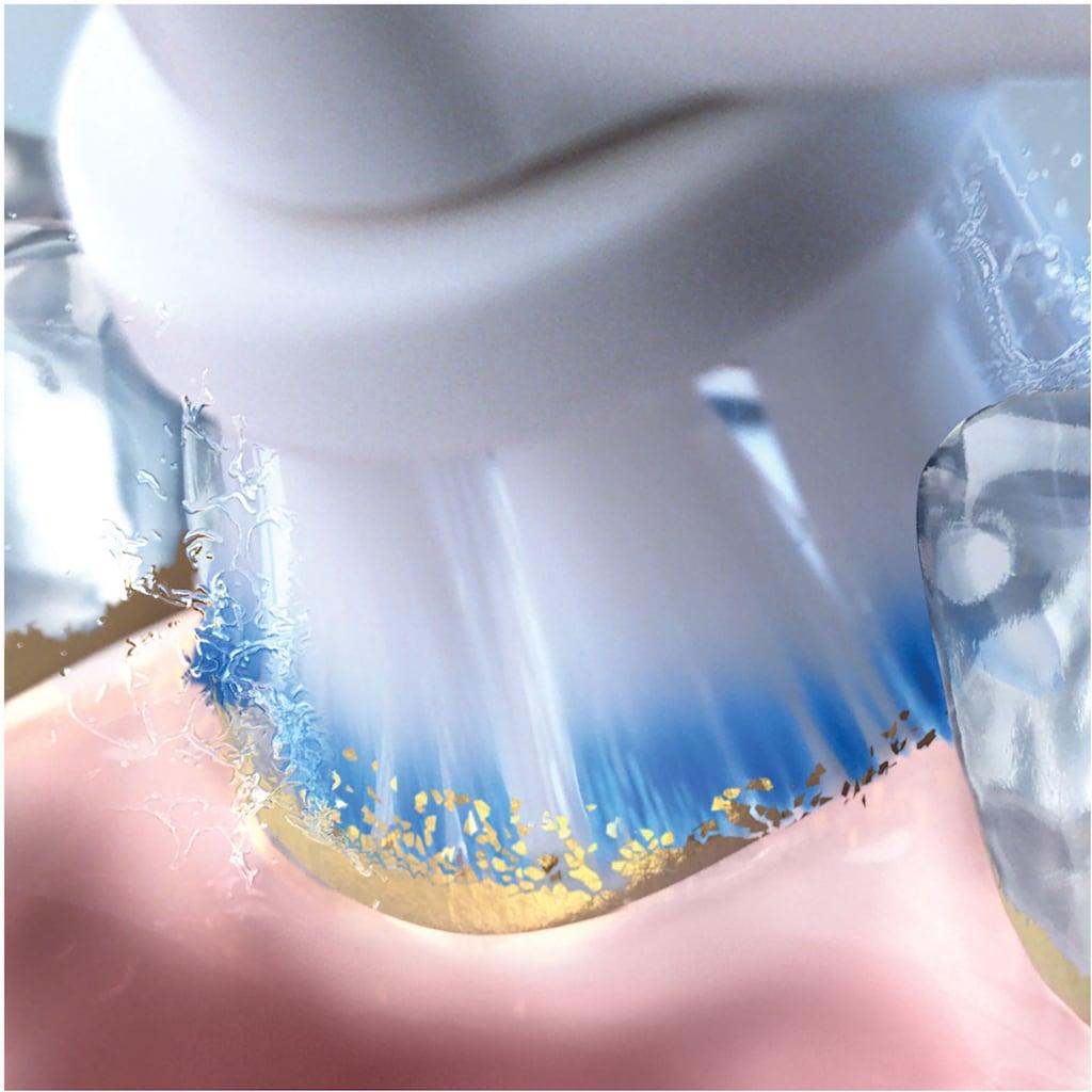 Oral B Elektrische Zahnbürste »Smart Sensitive«, 1 St. Aufsteckbürsten, Speziell für Menschen mit empfindlichen Zähnen