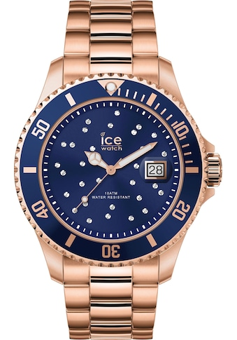 ice - watch Quarzuhr »ICE steel  -  Blue Cosmos Rosegold  -  Medium  -  3H, 16774« kaufen
