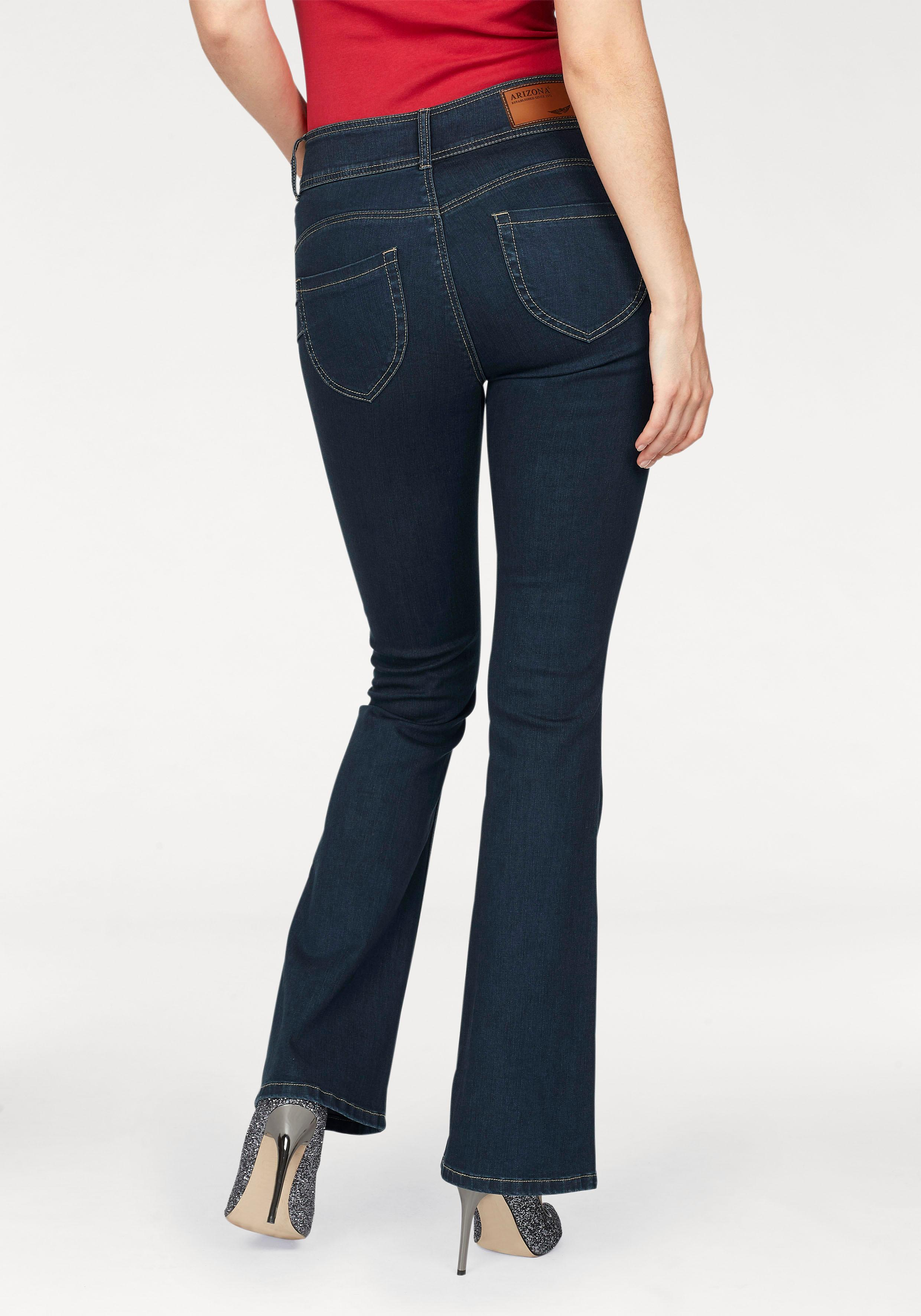 Arizona Bootcut-Jeans Shaping | Bekleidung > Jeans > Bootcut-Jeans & Schlagjeans | Arizona