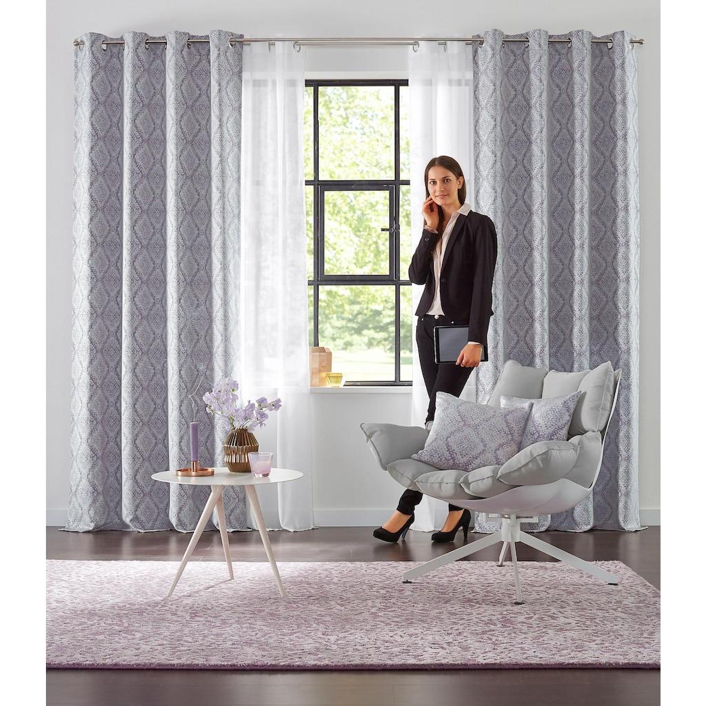 my home Gardine »Malin«, Farbe: Wollweiss