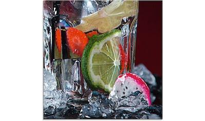 Artland Glasbild »Frischer Fruchtcocktail IV«, Getränke, (1 St.) kaufen