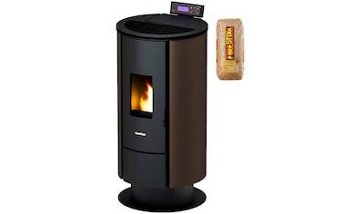 FREEPOINT Pelletofen »Flute airtight«, Stahl, 6,5 kW, Dauerbrand, inkl. 15 kg Firestixx Holzpellets kaufen