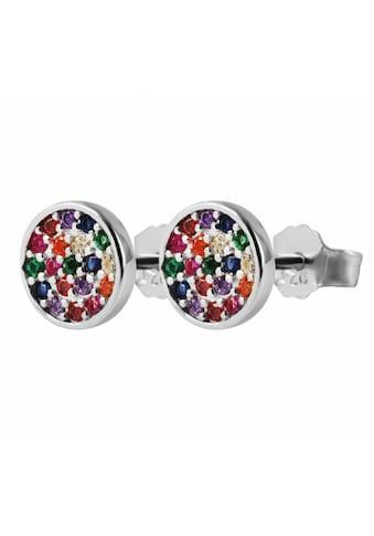 Adelia´s Paar Ohrstecker »Ohrstecker aus 925 Silber mit Zirkonia« kaufen