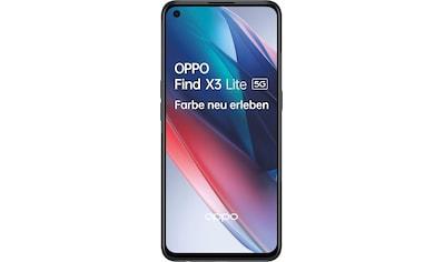"""Oppo Smartphone »Find X3 Lite 5G«, (16,33 cm/6,43 """" 128 GB Speicherplatz, 64 MP Kamera) kaufen"""