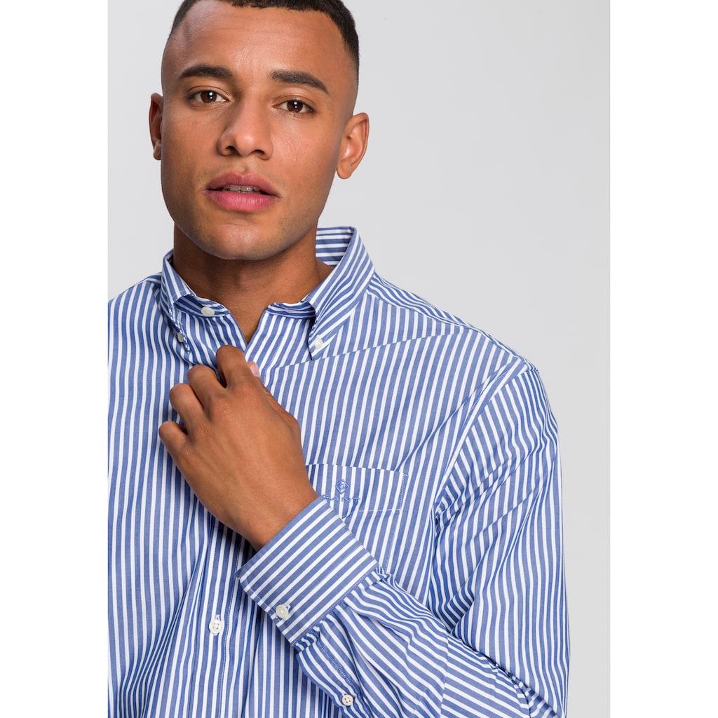 Gant Langarmhemd »THE BROADCLOTH STRIPE REG«