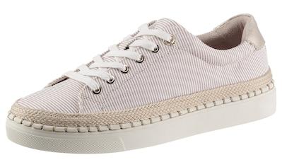 s.Oliver Sneaker, mit Bastbezug am Plateau kaufen