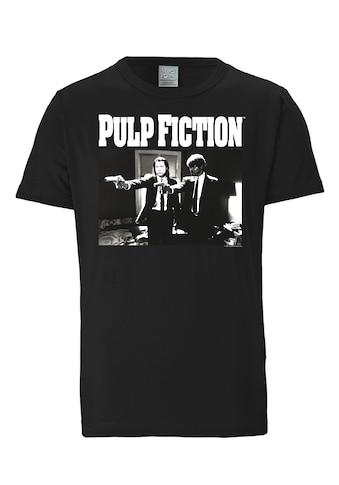 LOGOSHIRT T - Shirt mit lässigem Front - Print »Pulp Fiction« kaufen