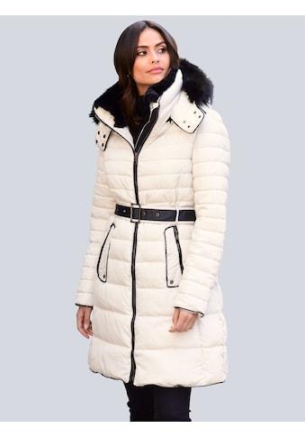 Alba Moda Steppmantel, im modischen Querstepp in unterschiedlichen Breiten kaufen