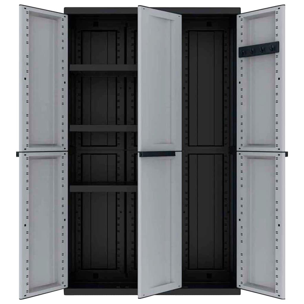 Kreher Mehrzweckschrank »C-twist«, B/T/H: 102x39x170 cm, 3 Türen, 3 Einlegböden