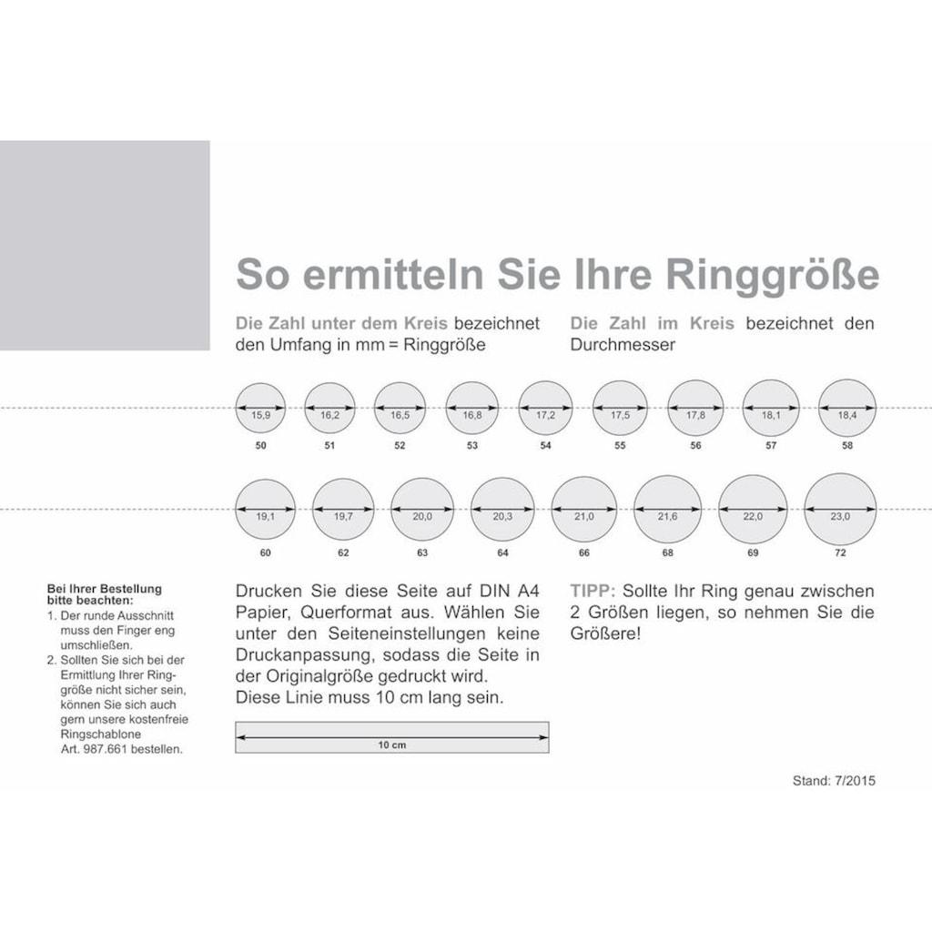 qudo Ring-Set »Firenze, O600025, O600027, O600028, O600030«, (Set, 2 tlg.), mit Zirkonia