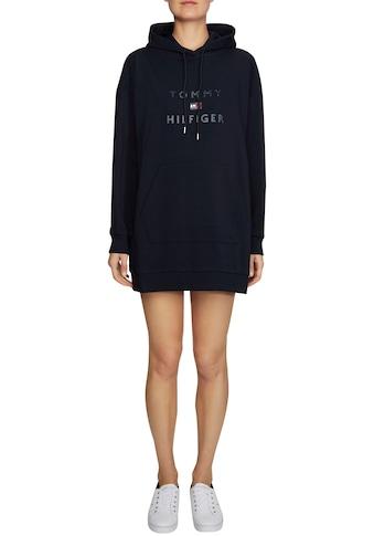 TOMMY HILFIGER Sweatkleid »CTIARA HOODED DRESS« kaufen