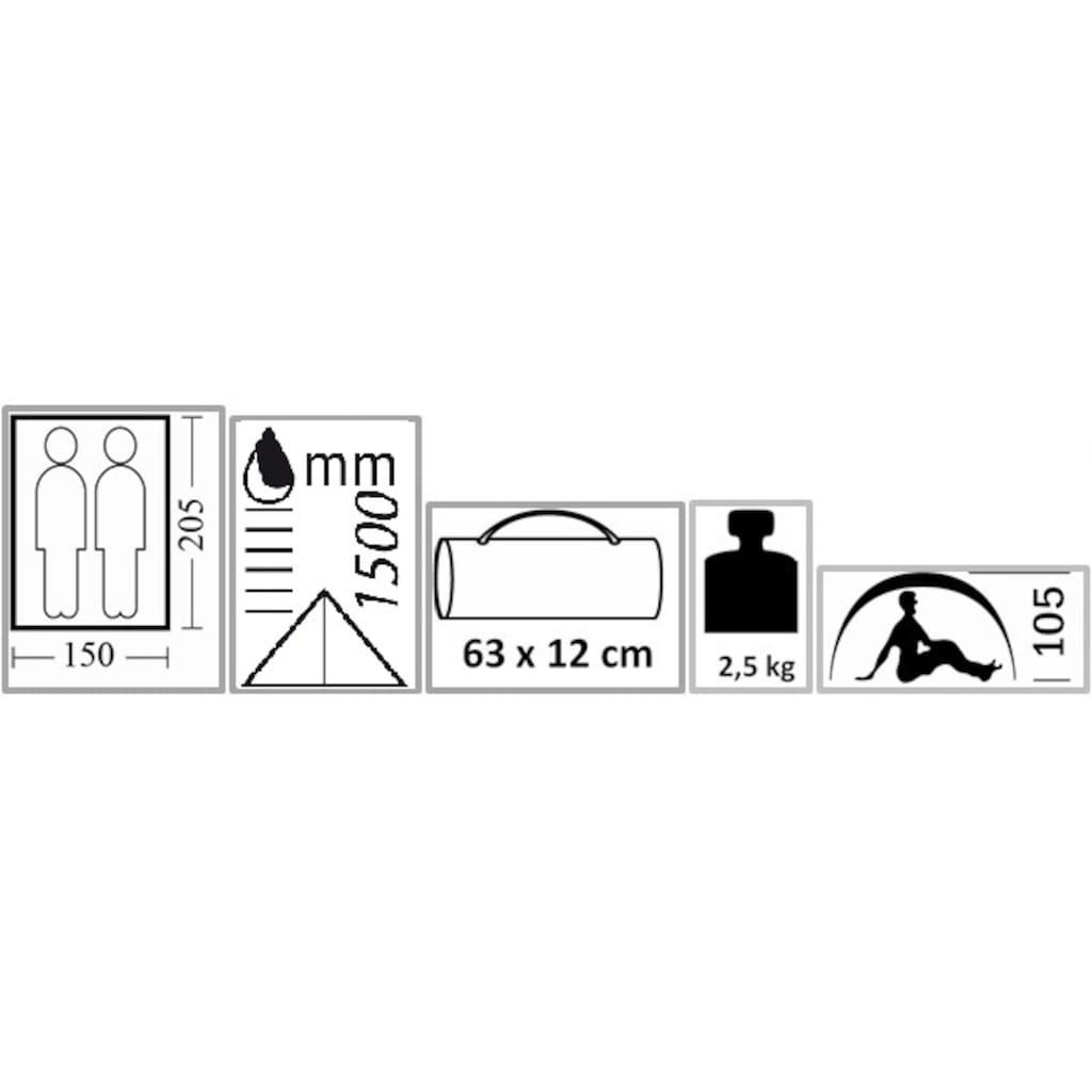 EXPLORER Kuppelzelt »Monodome«, 2 Personen