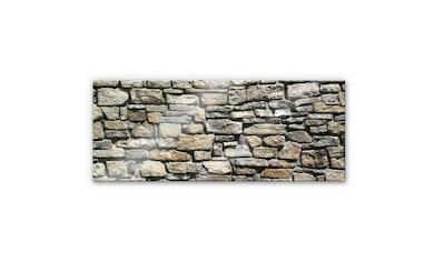 Wall-Art Küchenrückwand »Steinoptik 3D Natursteinmauer« kaufen