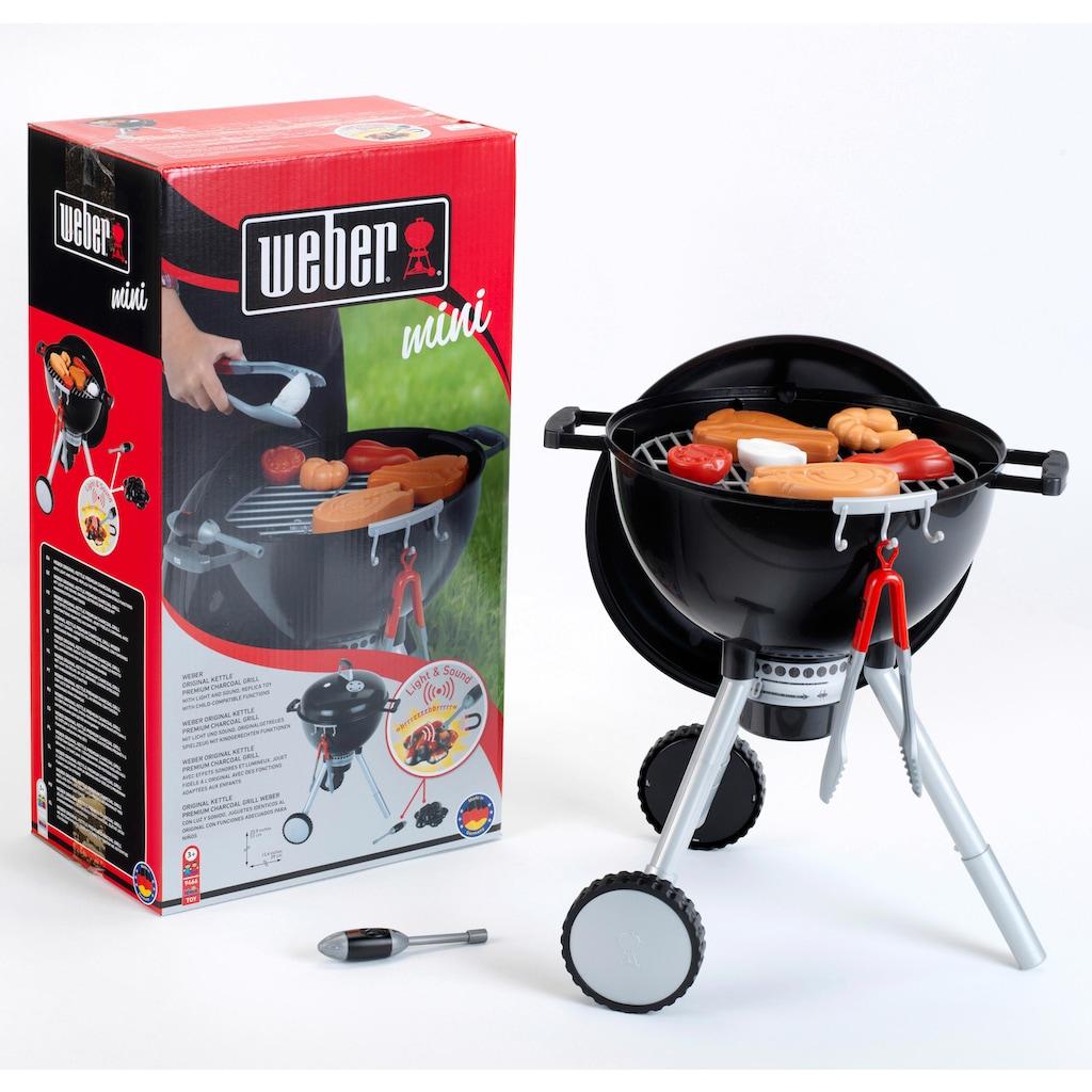 Klein Kinder-Küchenset »Weber Spiel-Kugelgrill One Touch Premium«, mit Licht und Sound, Made in Germany