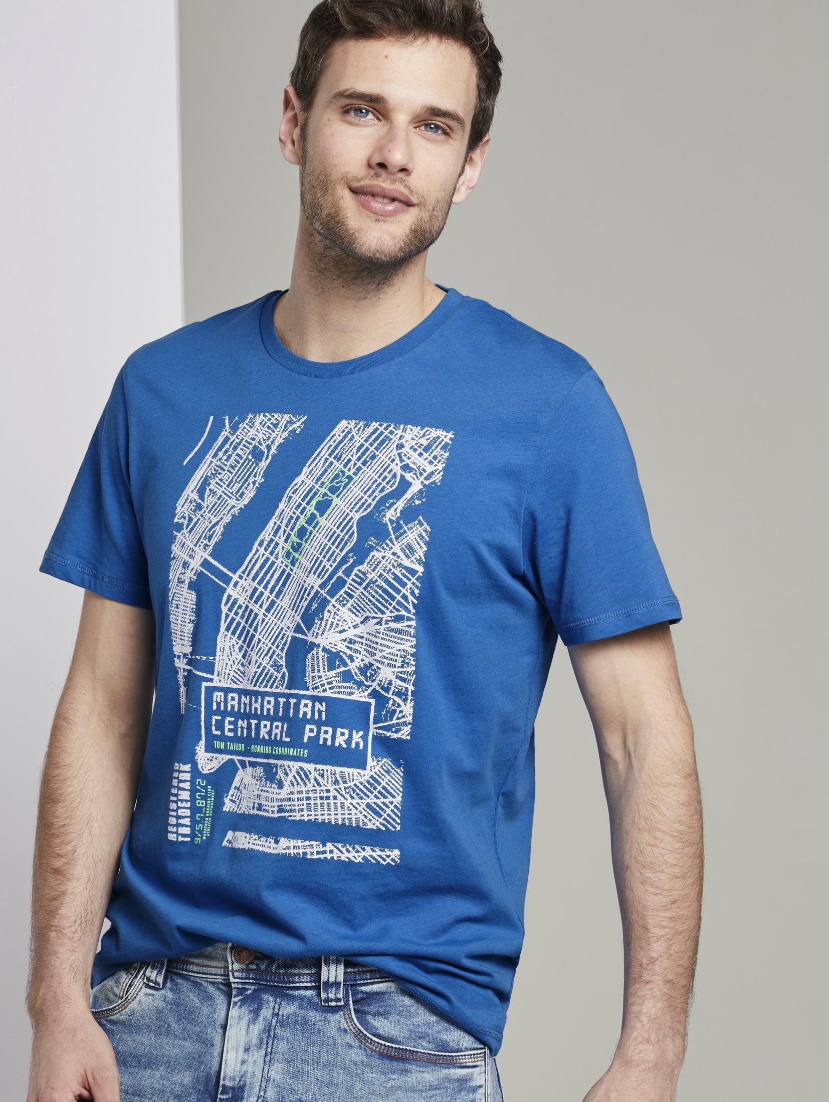 tom tailor -  T-Shirt T-Shirt mit NYC-Print