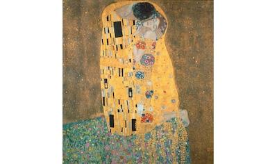 Vliestapete »Klimt  -  Der Kuss«, kaufen
