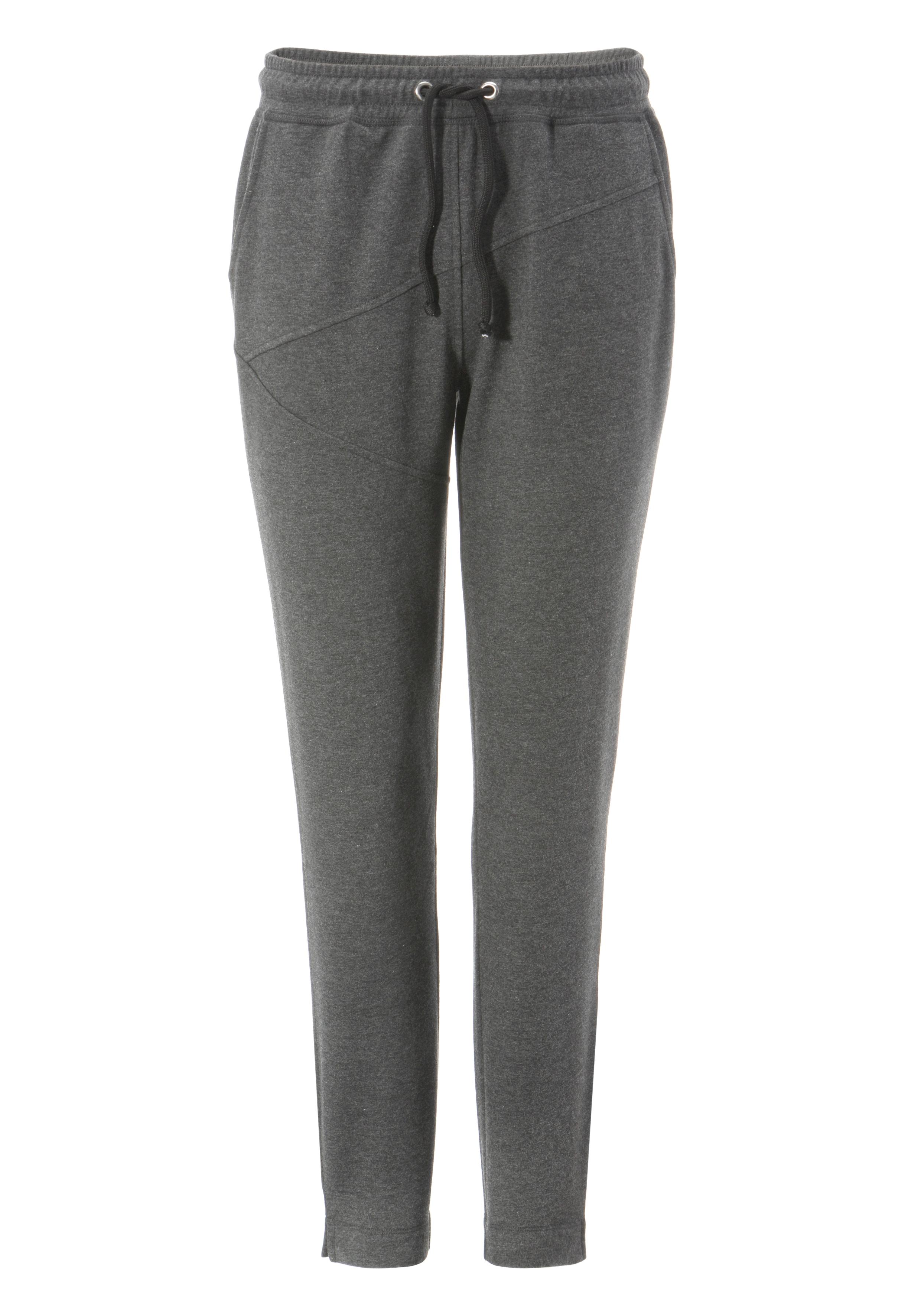 aniston casual -  Jogger Pants, mit kleinen Schlitz am Beinabschluss - NEUE KOLLEKTION