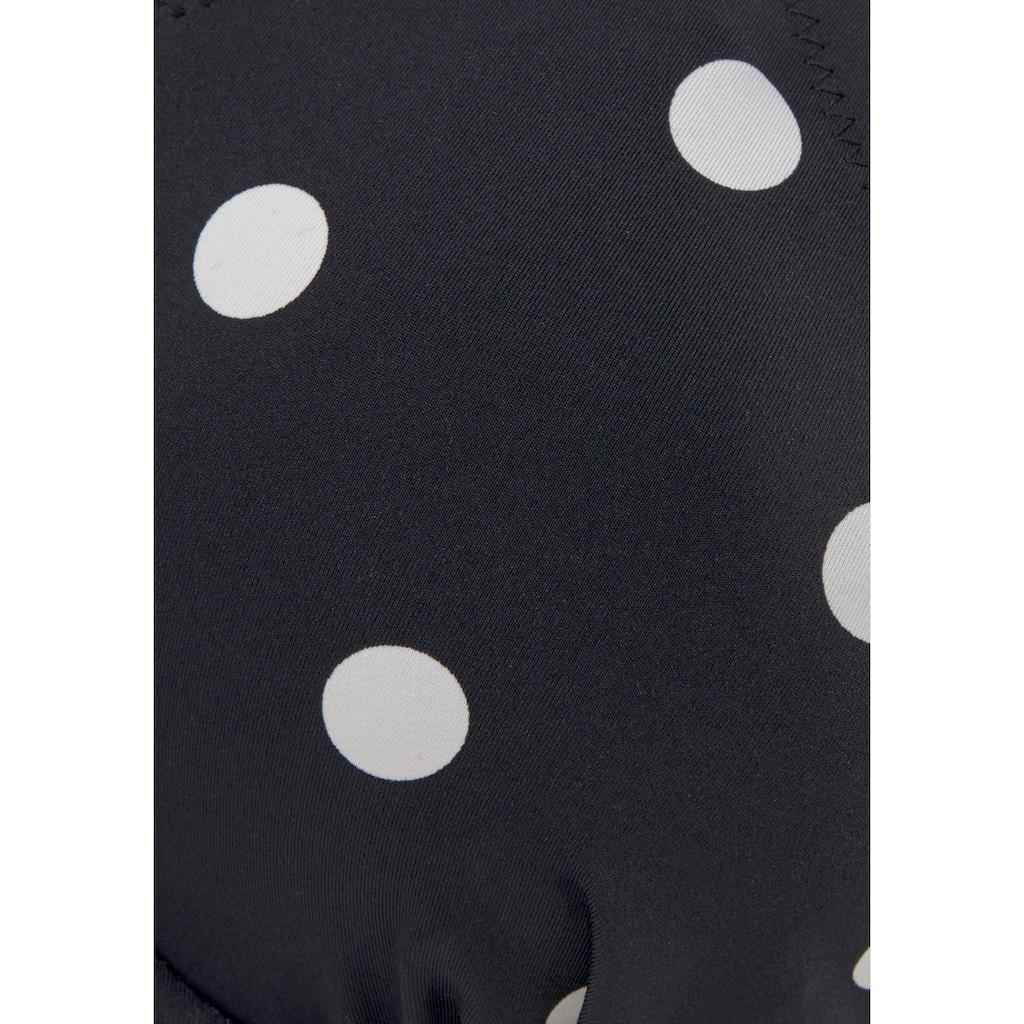 LASCANA Bügel-Bikini-Top »Jada«, mit leichter Wattierung und Muschelkante