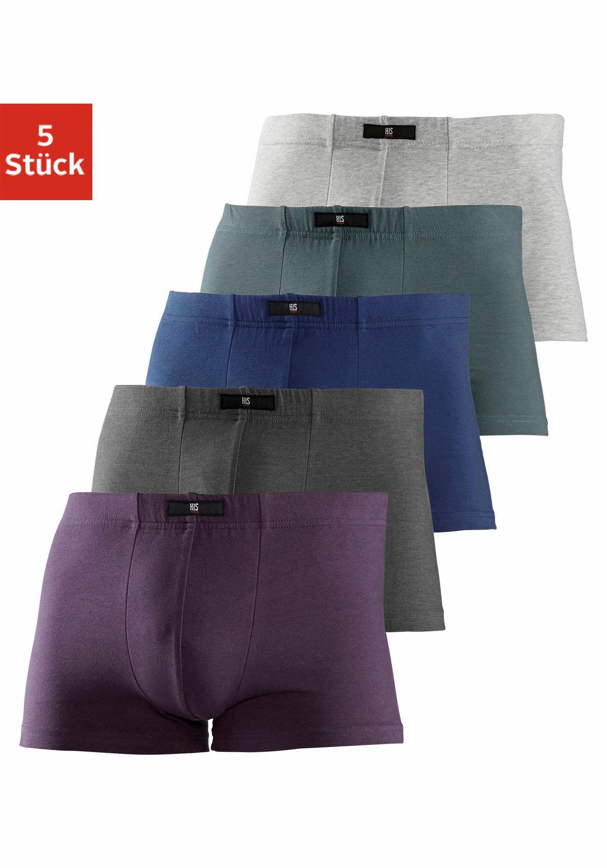 HIS Boxer Cotton made in Africa (5 Stück)   Bekleidung > Wäsche > Boxershorts   Bunt   H.I.S