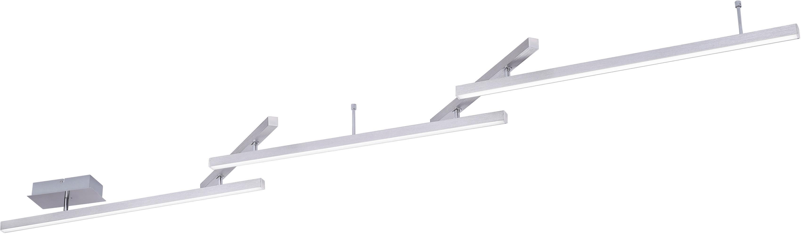TRIO Leuchten LED Deckenleuchte MELBY, LED-Board, Warmweiß-Neutralweiß, Mit WiZ-Technologie für eine moderne Smart Home Lösung