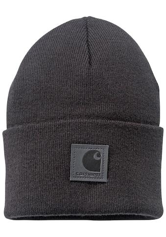 Carhartt Strickmütze »Black Label«, mit Carhartt Logo kaufen