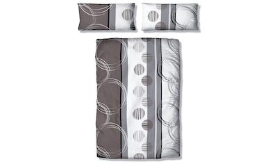 my home Bettwäsche »Swea«, mit Kreisen und Linien kaufen