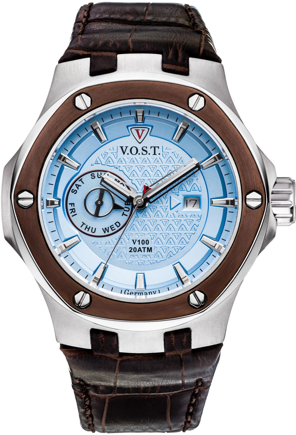 V.O.S.T Germany Multifunktionsuhr V100.020.M2.SI.L.I   Uhren > Multifunktionsuhren   V.O.S.T Germany